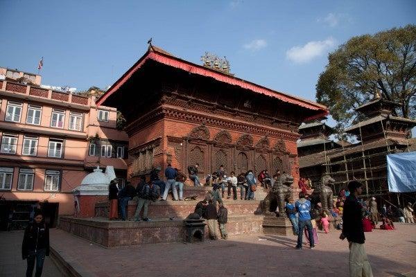 ベンガル猫のひめちゃん-シヴァ・パールヴァティ寺院