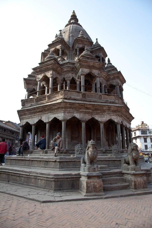 ベンガル猫のひめちゃん-クリシュナ寺院