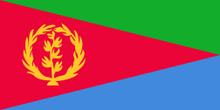 $食い旅193ヶ国inTOKYO-エリトリア国旗