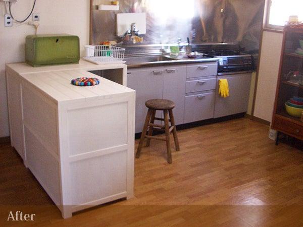 キッチンのアフター1