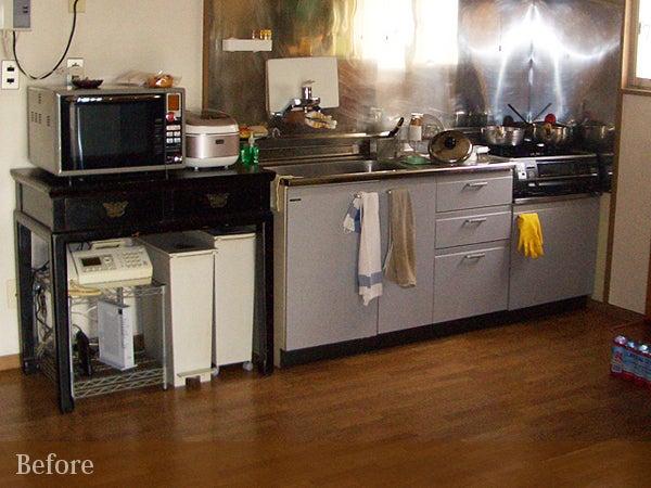 キッチンのビフォー