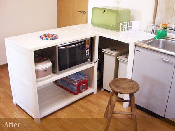 キッチンのアフター2