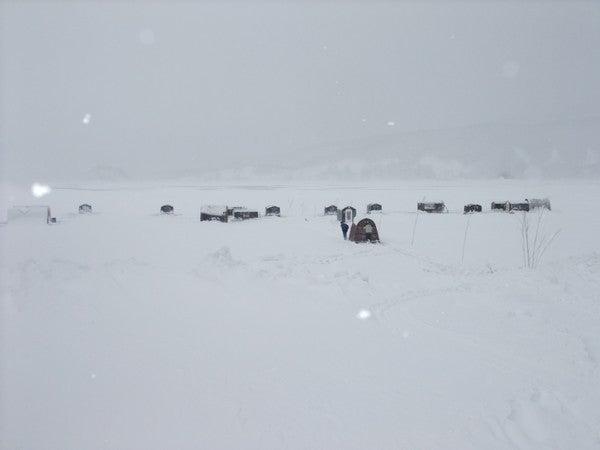 裏磐梯 桧原湖畔 こたかもり 桧原湖中央 最新釣果情報 2011