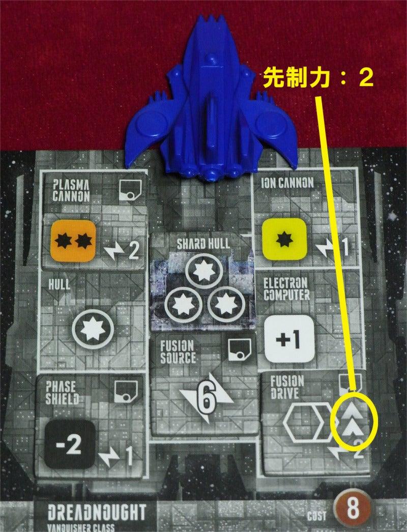 risaのボードゲームレポート-Ecl_先制力青