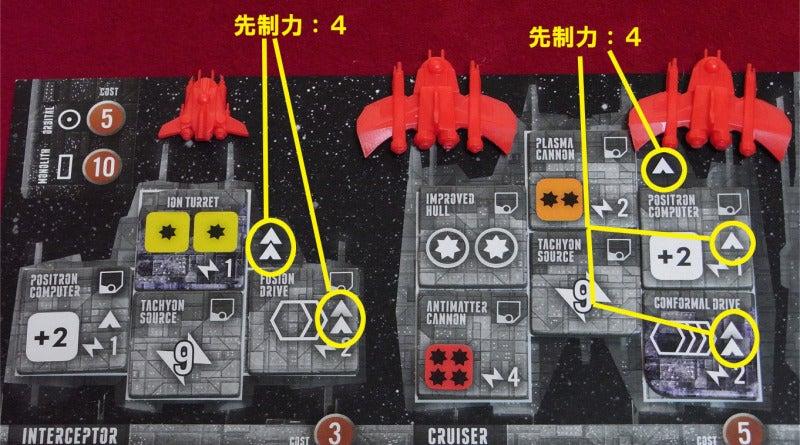 risaのボードゲームレポート-Ecl_先制力