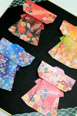 飛行機 折り紙 折り紙 着物 折り方 : ameblo.jp
