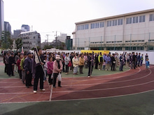 北新宿新和会のブログ-防災訓練(1)