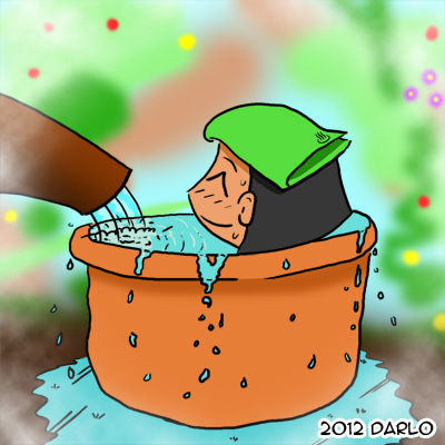 Welcome to Darlo's Diary!-onsen-bathing