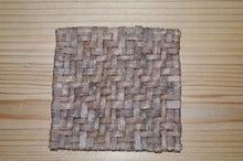 自然素材でこんなの作ってます。-コースター
