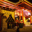 夜の浅草寺は、なかな…