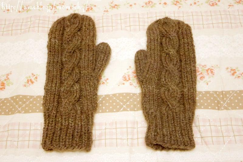 手袋 棒編み 編み図 | 手袋 棒編み | ニットミトン、 …