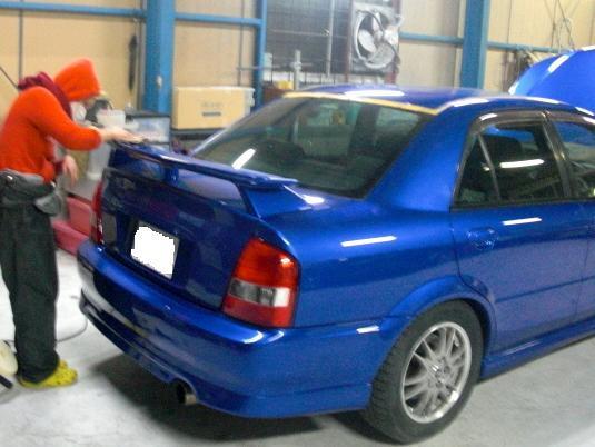 京都の女職人が書く車のブログ☆★-コーティング施工