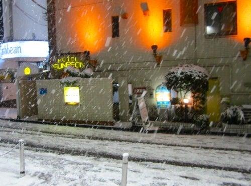$∞最前線 通信-雪の渋谷