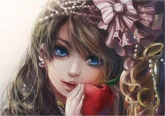小紅姫起きたよ。-すこしこわいよ