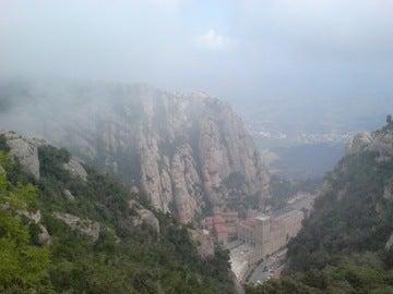 ケーブル上から修道院