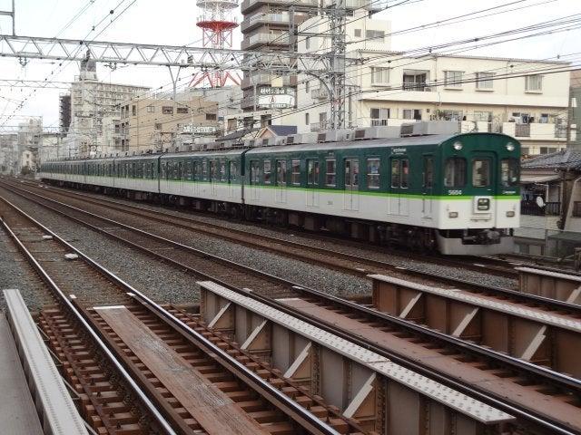 京阪5000系(WX30で撮影)