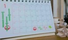 $てぬぐい作家 tenugui chaco のブログ-1/30 カレンダー