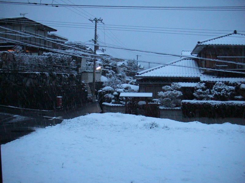 おまけ道@琵琶湖畔で実家生活♪ポテチンっ♪-20120130