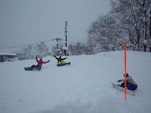 $池の平温泉スキー場ゲレンデレポート