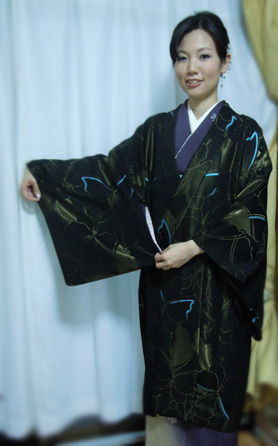 Yukoのハンドメイド+着物雑記-岡山工芸のコート