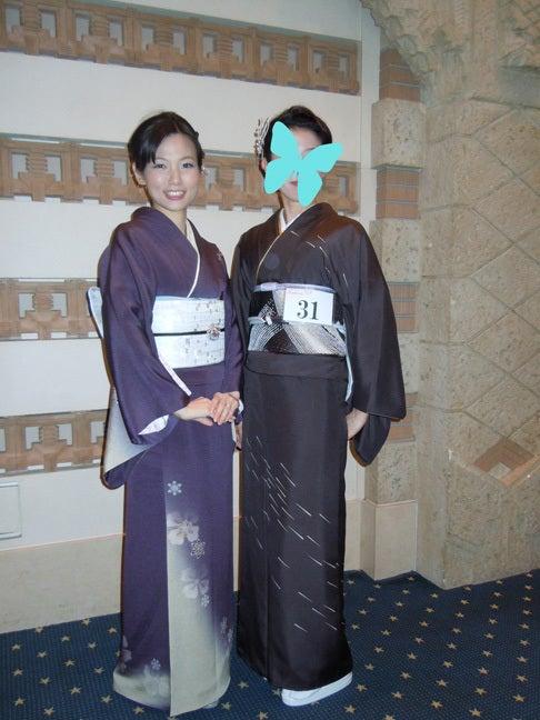 Yukoのハンドメイド+着物雑記-日本和装きものブリリアンツ地区予選in大阪