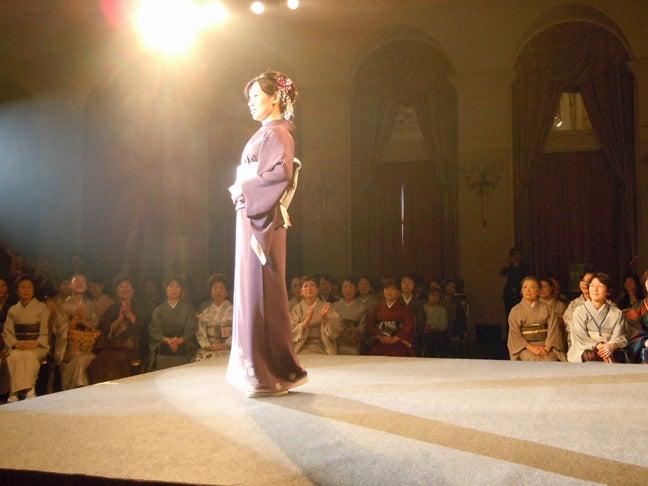 $Yukoのハンドメイド+着物雑記-日本和装きものブリリアンツ地区予選in大阪 2