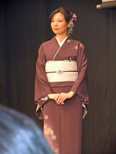 $Yukoのハンドメイド+着物雑記-日本和装きものブリリアンツ地区予選in大阪 3