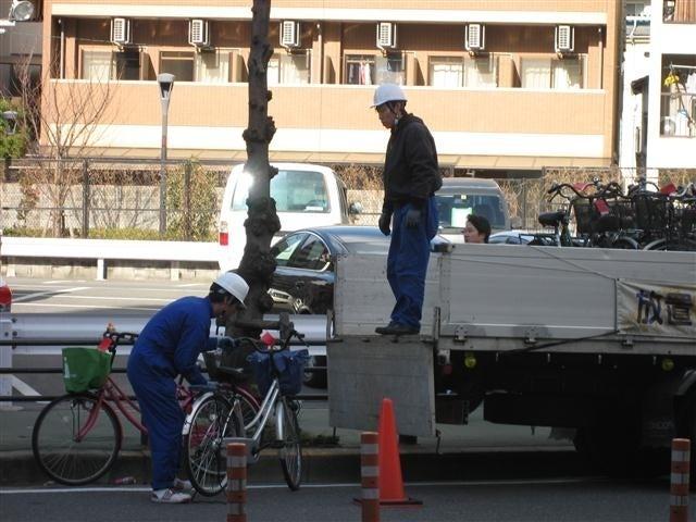 ★自転車撤去現場★|賃貸 ...