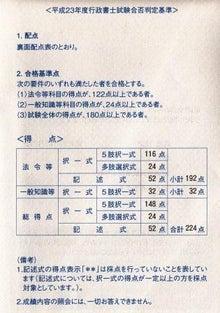 『てっし録(^▽^)』~法と書で時代を豊かに生き抜こう!-行政書士試験合否通知書