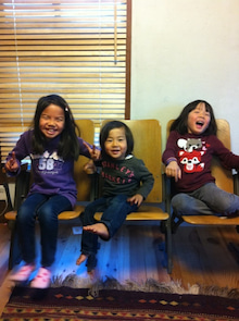 3人の子供と愉快な仲間たち・・・・ときどき嫁さん