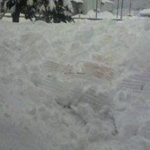 まだまだ雪