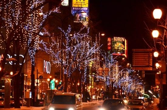 $全てのコスメは美に通ず-札幌の夜景