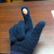 スマホ用の手袋と思っ…