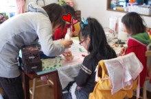 ~IKKA~神戸プリザーブドフラワーレッスン&オーダーギフト-プリザーブドフラワーキッズレッスン風景