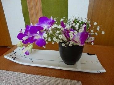 美味しい・楽しい・幸せな食卓-お花