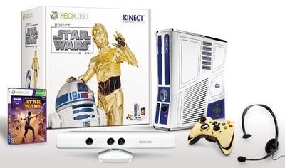 360 Kinect  スターウォーズ