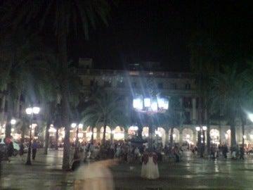 夜の広場1