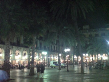 夜の広場3