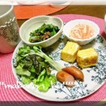ワンプレート朝食♪小…