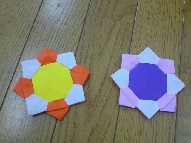 折り紙の 折り紙のメダルの作り方 : divulgando.net