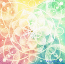 Wing of Heart 光の翼・光の華・光の曼荼羅パステル福岡-天界