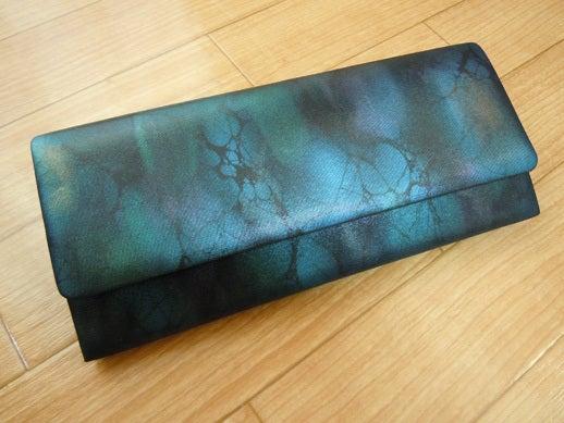 Yukoのハンドメイド+着物雑記-オーダーメイドクラッチバッグ