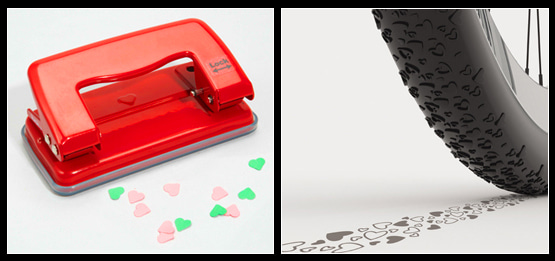 Heart-Shaped Hole Punch from fredflare.com