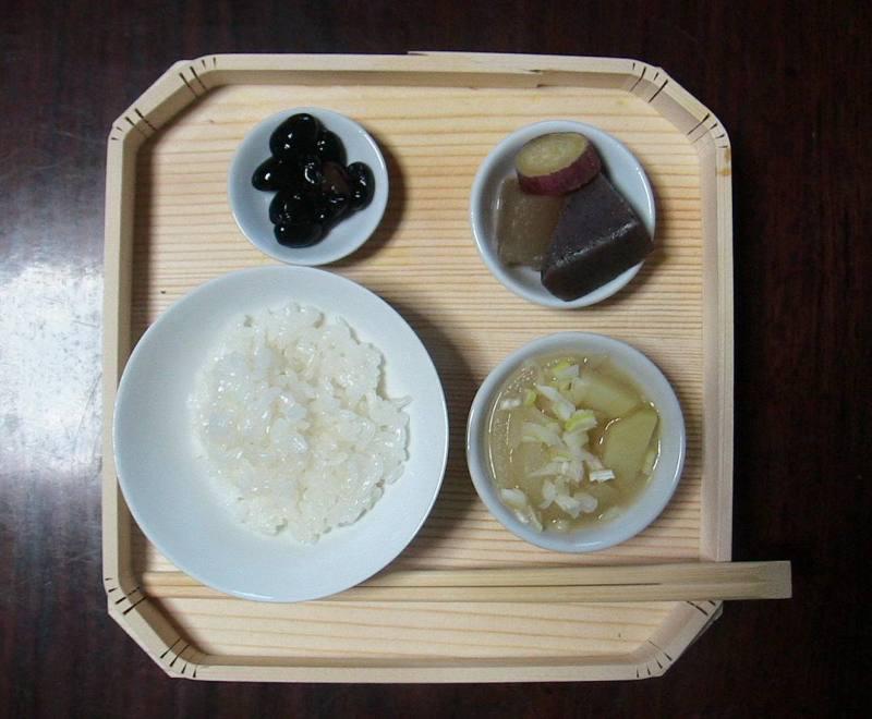 おまけ道@琵琶湖畔で実家生活♪ポテチンっ♪-20120213