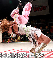 女子プロレス専門誌『RINGSTARS』-JWP2・12キネマ