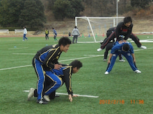 SUNDAI RUGBY MANAGER BLOG-馬跳び