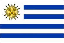 食い旅193ヶ国inTOKYO-ウルグアイ国旗