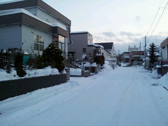 歩き人ふみの徒歩世界旅行 日本・台湾編-除雪後