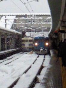 トラベルちゃんのブログ-大雪の富山駅