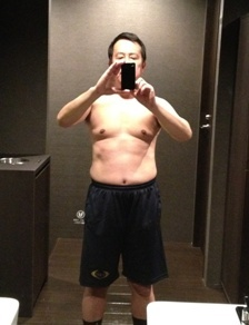 $筋肉トレーニングと炭水化物抜きダイエットでやせるぞ!ダイエット成功体験記(きっと)-ライザップトレーニング後